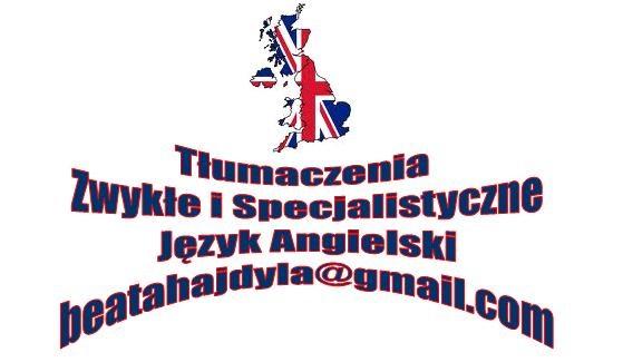 Angielski Tłumaczenia Specjalistyczne I Zwykłe